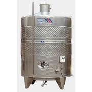 Вертикальный винификатор с рубашкой охлаждения для сбраживания вин, Италия 02 фото