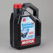 Масло MOTUL Snowpower 2T 4л фото
