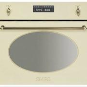 Встраиваемая микроволновая печь Smeg, SC845, MPO, бытовая техника встраиваемая, врезная духовка электрическая фото