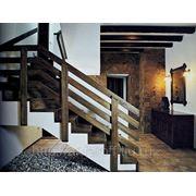 Изготовление лестниц из натурального дерева фото