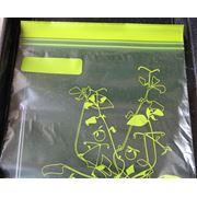 Punga de plastic resigilabila Ziplock transparenta фото