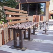 Изготовление садово-парковой и уличной мебели. фото