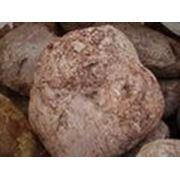 Валуны розовые мраморезированные фракции (150-350) мм фото