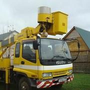 Аренда автовышки 17 метров в Свердловской области фото