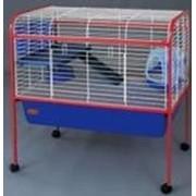 Клетка R3A, для кроликов и других средних грызунов, 88х54х91 см фото