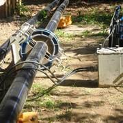 Монтаж водопровода из полиэтиленовых труб фото