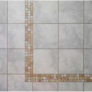 Клинкерные декоративные элементы Aera 0232/AE03 - мозаичный бордюр фото