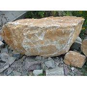Камень для ландшафта, кварцит фото