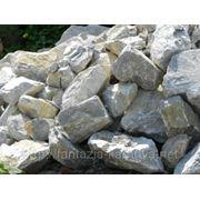 Глыба каменная мраморный известняк фр. 40-60 кг. фото