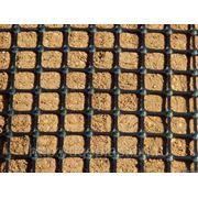 Геосетка дорожная базальтовая фото