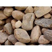 Булыжник, природный камень, известняк не дробленый, булыжник с доставкой. фото