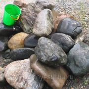 Валун 50-80 кг. фото
