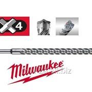 Буры SDS-Plus Milwaukee RX4 10 x 1000 с 4-мя режущими кромками фото