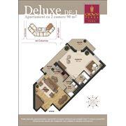 Элитные квартиры делюкс. 2-комнатные квартиры на втором этаже фото