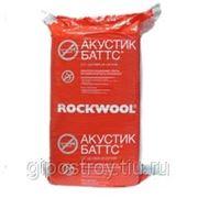 Утеплитель Акустик Баттс, 100х600х50 мм. Rockwool (Роквул) фото
