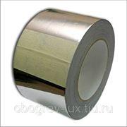 Алюминиевый скотч 25м для монтажа греющего кабеля на трубу фото