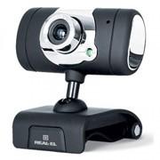 Веб-камера REAL-EL FC-225, black фото