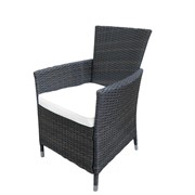 Плетеное кресло ротанговое Дарки фото