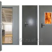 Дверь противопожарная фото