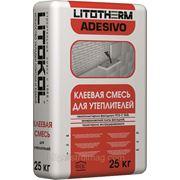 """Клей для утеплителя """"LITOTHERM Adesivo"""" 25кг, LITOKOL фото"""