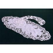 Салфетки ажурные с вышивкой фото