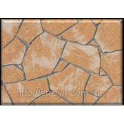Гибкая плитка из мраморной крошки DELAP (Венгрия) под дикий камень фото