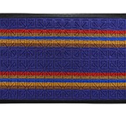 Коврик придверный ComeForte Уют Мультиколор 40*60см, прямоугольный, радуга фото