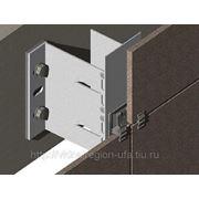 DVF-11: Подсистема навесного вентилируемого фасад с облицовкой плитами керамогранита фото