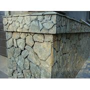 Сланец Алтайский (фасады,цоколи)-открытый шов. фото