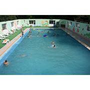 Посещение бассейна фото