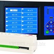 Измеритель температуры Термодат-29М5 - 12 универсальных входов, 24 реле, 2 аварийных реле, интерфейс RS485, архивная память, USB-разъем фото