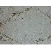 Златолит белый для облицовки и дорожек. фото