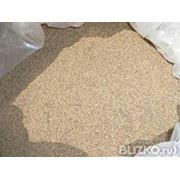 Песок кварцевый фракционированный фр. 0,63-0.8мм фото