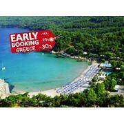 Один из лучших отелей Греции остров Тасос - Makryammos Bungalows Hotel 4* раннее бронирование! фото