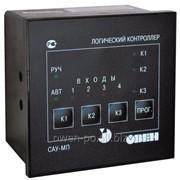 Прибор для управления системой подающих насосов Овен САУ-МП-Н.11 фото