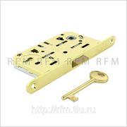Бесшумный замок с 1 межкомнатным ключом, AGB В01101.50.03 фото