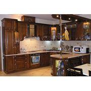 Мебель кухонная деревянная фото