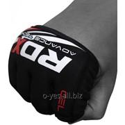 Тапировка, бинт-перчатка RDX Neoprene Gel Red фото