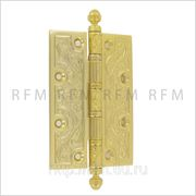 Дверная петля 126х89х3,5 мм, универсальная, допустимая нагрузка на 2 петли 60 кг. АРТ MC001-A.07 фото