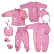 Комплекты для новорожденных фото