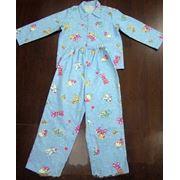 Пижама детская фланелевая фото
