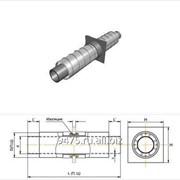 Опора неподвижная диэлектрическая стальная в оцинкованной трубе-оболочке d=159 мм, s=4,5 мм, L=150 мм фото