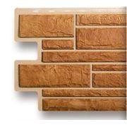 Фасадные панели «Альта-профиль» КАМЕНЬ БЕЖЕВЫЙ. фото