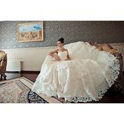 Cвадебное платье дизайнерское фото