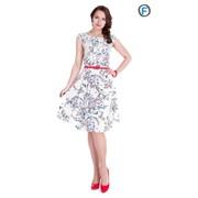 Платье с поясом Артикул: 318-16 фото
