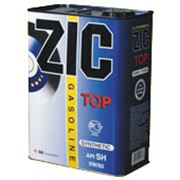 Масло синтетическое автомобильное ZIC TOP фото
