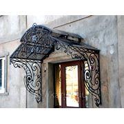 Козырек над входом Домодедово фото