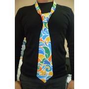 Изготовление фирменных галстуков, пошив мужских фирменных галстуков фото