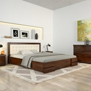 """Двоспальне ліжко """"РЕГІНА"""" фото"""