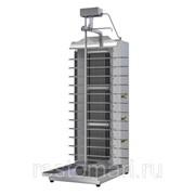 Гриль для шаурмы газовый ATESY Шаурма-3М с электроприводом фото